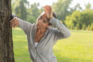 Bij een burn-out herstel je slecht van inspanningen zoals sporten