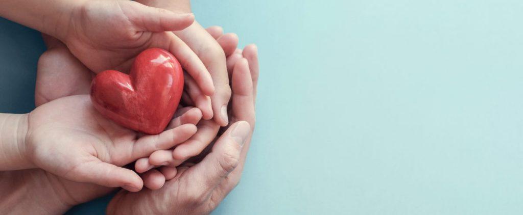waardering, liefde, dankbaarheid, zorg en vriendelijkheid