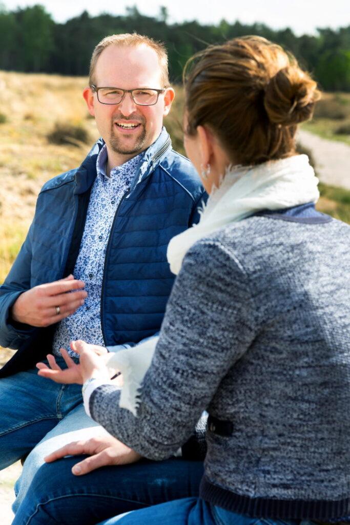 Alleen als jij en Edwin de indruk hebben dat hij je verder kan helpen, zal hij de mogelijkheden voor een passend aanbod met je doornemen.