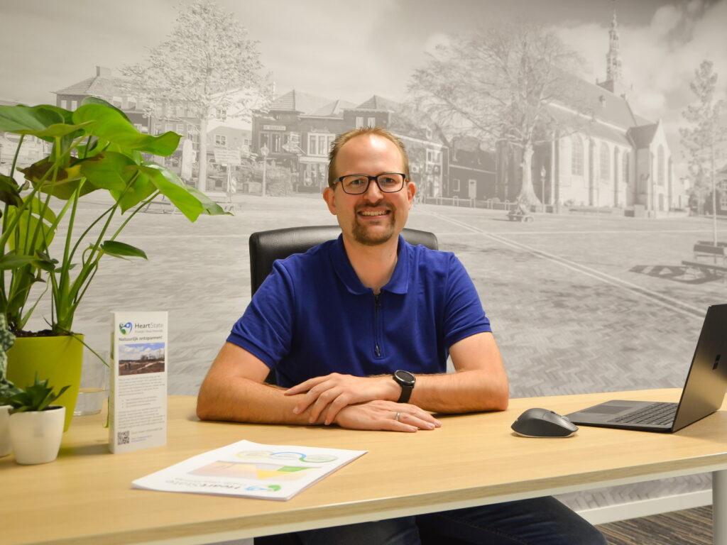 Coach Edwin Vriethoff bij Praktijk Vitaal Moerdijk in het PMC Zevenbergen